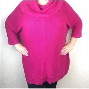 Lane Bryant Cowl Neck Sweater Plus Size 22/24 Knit
